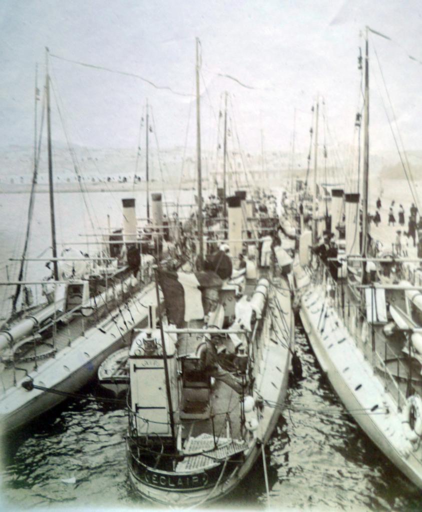 Une marine de petits torpilleurs inefficaces
